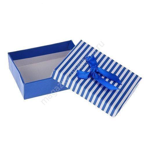 Подарочная прямоугольная коробочка 188